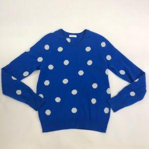 Equipment Femme Polka Dot Cashmere Sweater